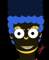 Detournement de Marge Simpson (Final version) by Meuge