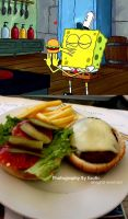 krabby patty by exotic-freak