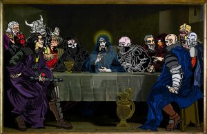 Sith Last Supper by ibentmywookiee