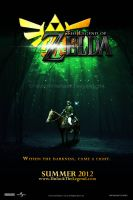Legend of Zelda Movie Poster by TwistedWhiteRabbit