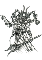 Ahriman of the Thousand Sons by SC4