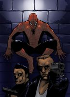 Spiderman and Thugs by spidershag