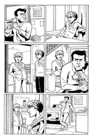 The Sundays page 2, just inks by ScottEwen