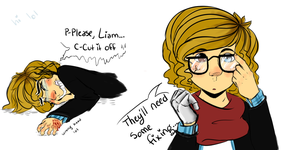 micah doodles by Baconkitty