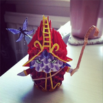 3D Origami: Lulu (League of Legends) by inyeon