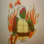 Spirit Quest Raph- Like Fire by Frostyzzz