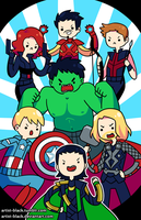 AVENGING TIME by artist-black