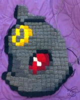 Umbreon Blanket Part 3 by TheHarley