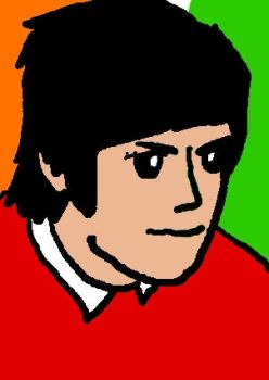 Young George Best by shadefrost444777