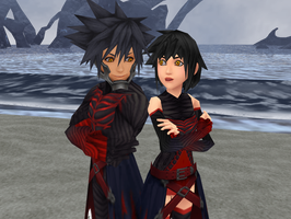 Fem!Vanitas PREVIEW by Reseliee