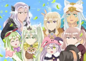 Groufie time! (rune factory 4) by HimenoRenai