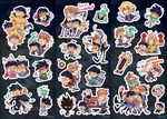 Mob Psycho 100 Stickers SET by PhuiJL