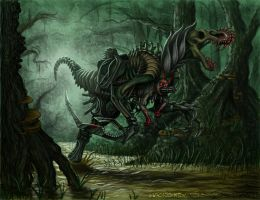 Clockwork Abomination by Moonshadow01