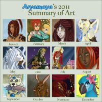 Summary of Art 2011 by AryaMaya
