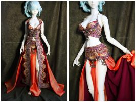Shoppe : OOAK Belly Dance Tribal Fullset by Nezumi-chuu