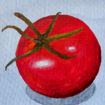 Tomato Art by Milliebead