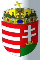 Magyar,Hungarian crest,coat of arms by OPTILUX