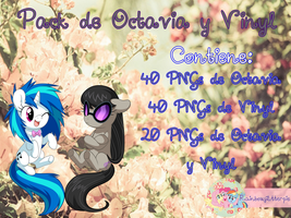 Pack Octavia y Vinyl by rainboflutter