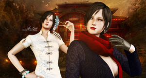Key to Hell. Ada Wong, Carla Radames by AliceCroft