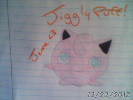 Jigglypuff - Pokemon Red, Blue - Generation 1 by Sappires1001