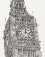 Big Ben by maddrawings