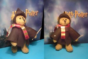 HP Longbottom Teddybear by toroj