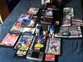 My Collection Of Classic Sonic by ClassicSonicSatAm
