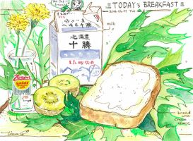 #daily060 Today's Breakfast (12) by tinashan