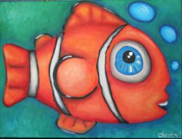 nemo fishy -commision by Yocheved
