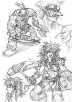 Warcarft - Etc.sketch 20081021 by Blade-Fury