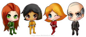 Totally Chibi Spies by Rugi-chan
