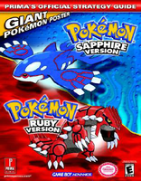 Pokemon (Cover Ruby and Prima's for guidebook by PokemonOnlineGames