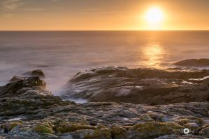 Sunset in the coast by MarcosRodriguez