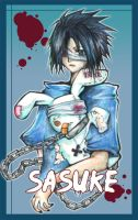 -+ Revenge +- Sasuke by grayishfeather