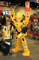 Mata-Nui Bionicle by tygertailzz