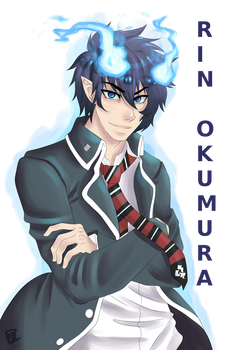 Commission: Rin Okumura by PocketPrism