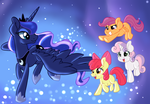 Trotting in  th Dream Scape by Pon3Splash