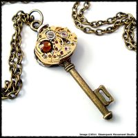 Steampunk Key 102 by SoulCatcher06