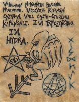 Page from the Necronomicon by Plotinus117