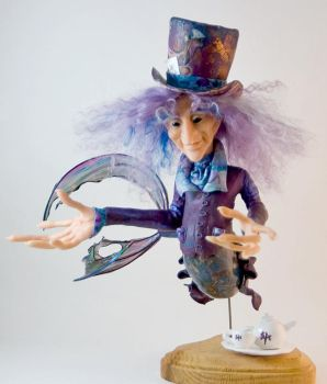 Mad Hatter Merman : Front View by alyssakay