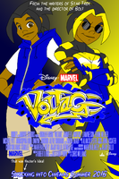 Voltage - The Movie Poster by LoudNoises