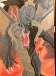Volcano Dragon by DragonsOfKrynn