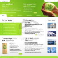 Ecologic Home Lay_4 by Trisme by webgraphix