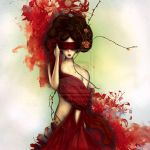 Blind Beauty by MonaParvin