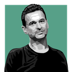 Dave Gahan of Depeche Mode vector by zapolzun