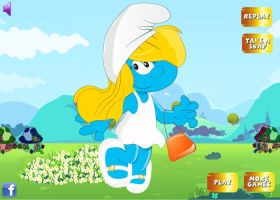 Smurfette is goin shopping. by Smurfette123