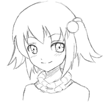 Sketch in MyPaint by Kimsha235