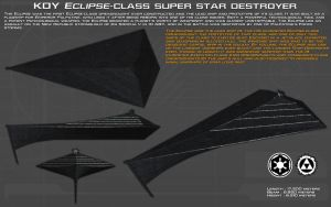 Eclipse class SSD Eclipse I ortho [Update] by unusualsuspex