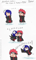 Naruto COMIC: Konan + PEIN... by MSkyDragons