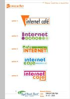 Internet Cafe logo by nicy2002